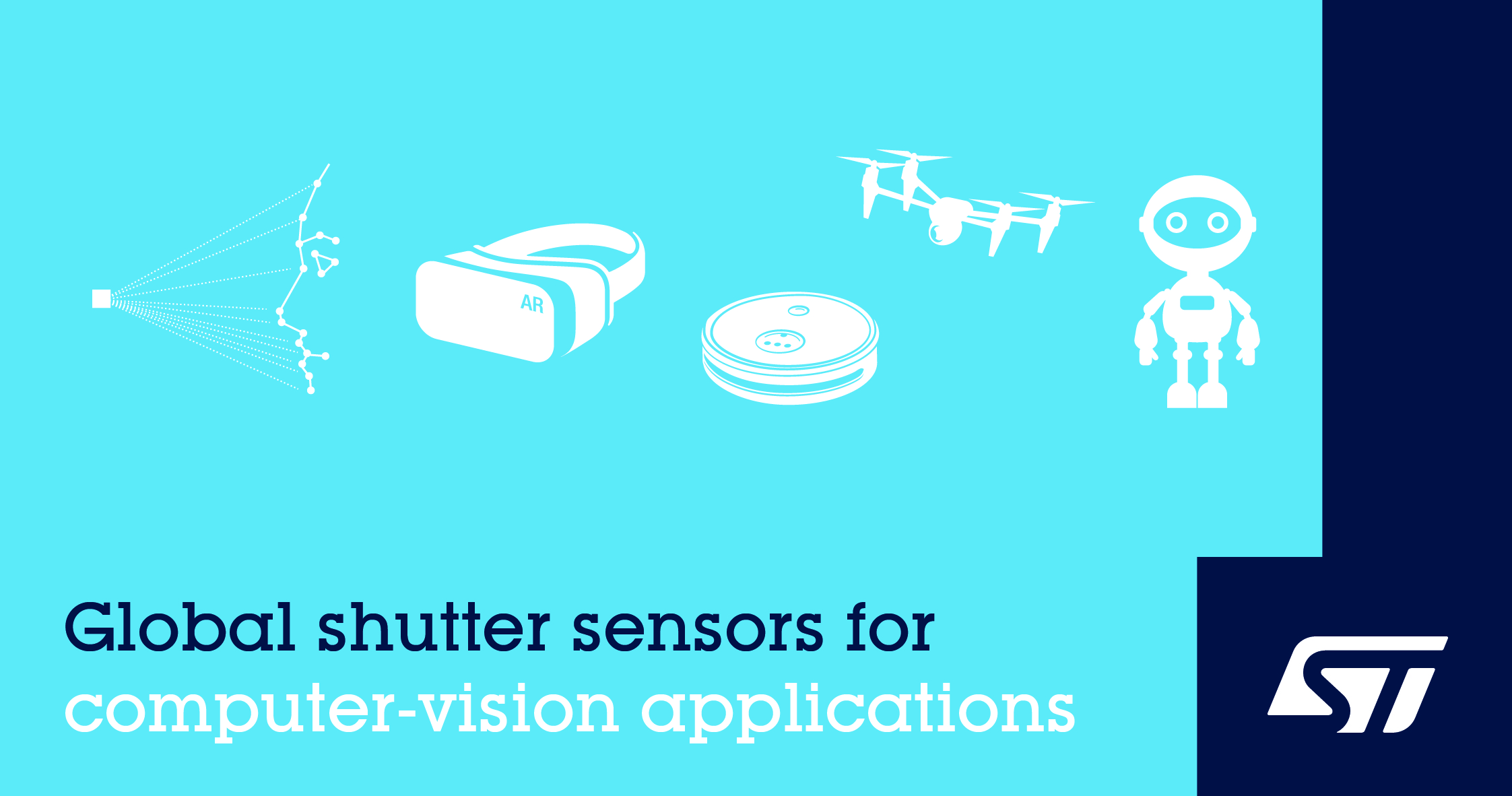 意法半导体推出高性能全局快门图像传感器,推动下一代计算机视觉应用发展