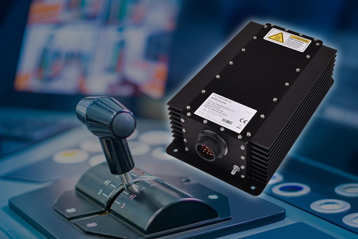 Powerbox宣布发布一款用于船用发动机控制的双通道加固型电源