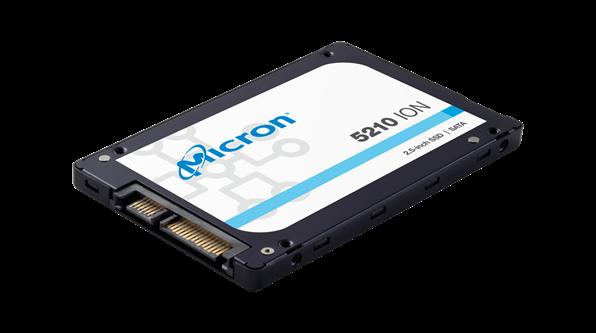 美光发布全新容量和功能的5210 ION企业级SATA固态硬盘