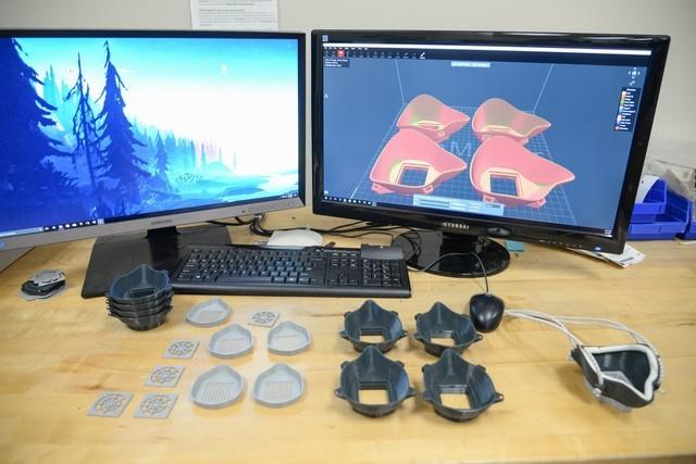 美军用3D打印自制N95口罩:创意不错,但效率太低了