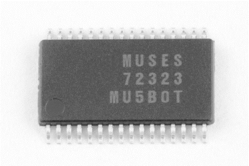 新日本无线发布高性能、高音质音量控制IC:MUSES72323