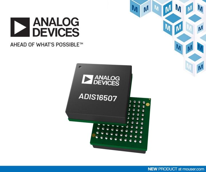 �Q�扫w�子�_售Analog Devices 公司的ADIS16507精密MEMS�T性�y啪――先前说话量�卧�