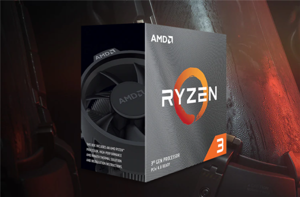 最便宜的7nm Zen2!AMD发布锐龙3 3300X/3100:首次多线程