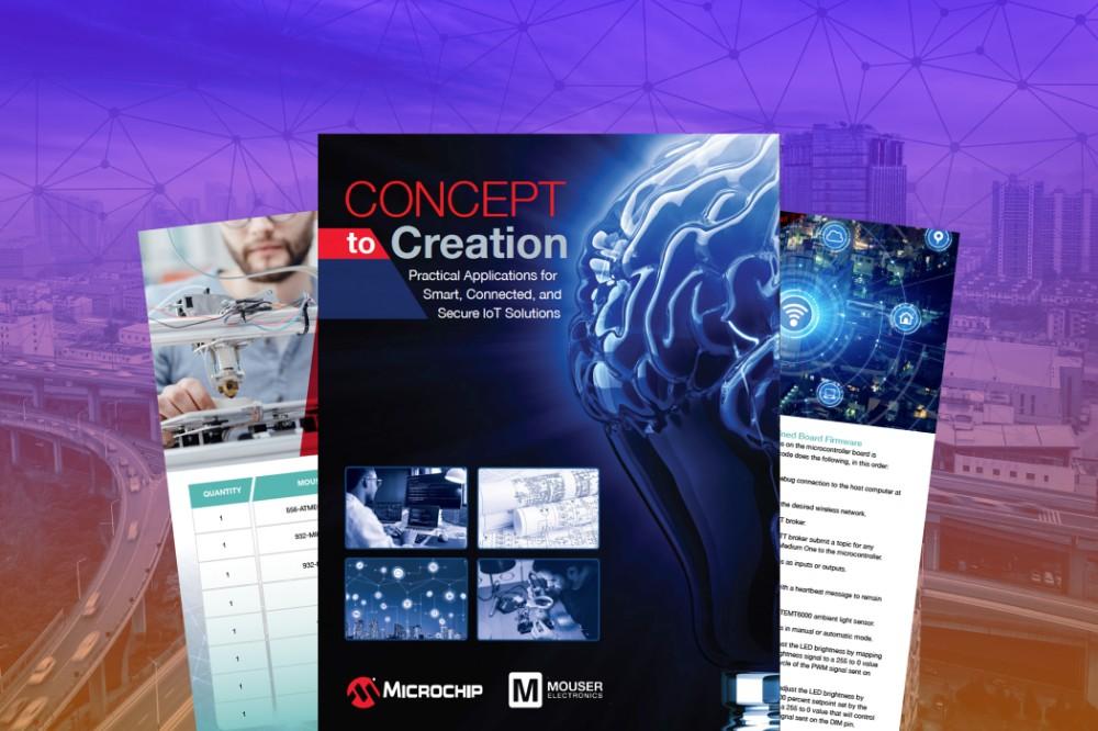 贸泽电子携手Microchip推出全新电子书,带你了解那些改变人类生活方式的物联网应用