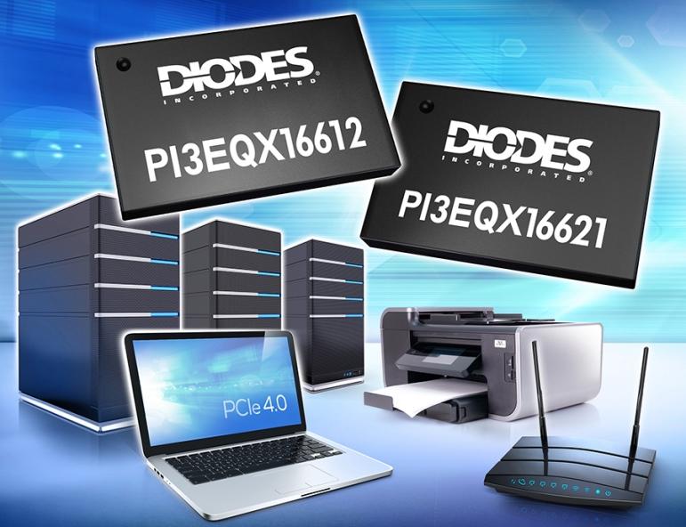 Diodes推出PCIe 4.0 Mux/DeMux ReDriver 解决高速串行总线信号传送路由的挑战
