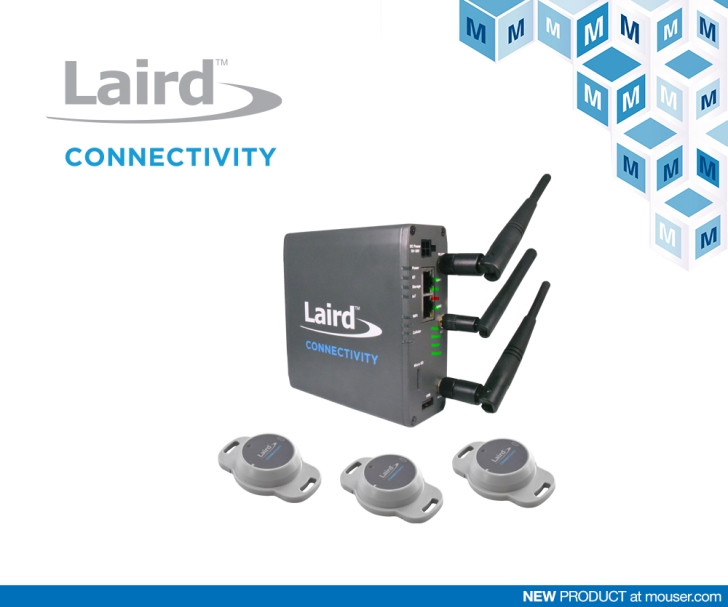 貿澤電子備貨Laird Connectivity Sentrius IG60-BL654入門套件