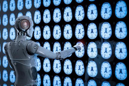 机器人分析X射线脑层析成像