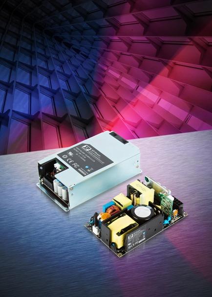 多功能,超紧凑,高效率的250/450W电源, 适用于医疗、工业和通讯应用