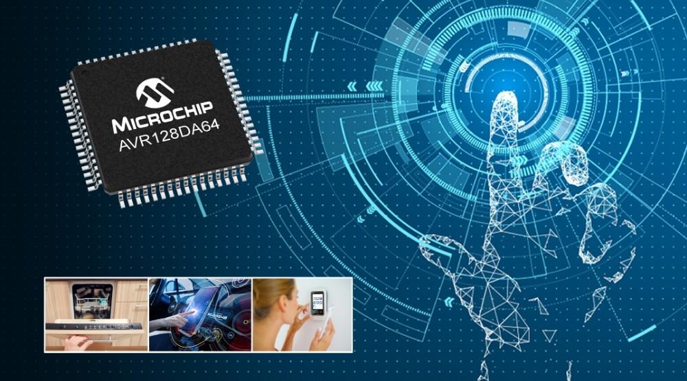 Microchip推出全新功能安全型AVR DA系列单片机,支持实时控制、连接和HMI应用