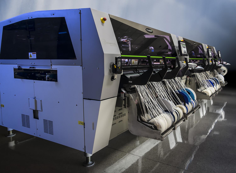 加拿大EMS厂商Synapse电子增添两条Fuzion贴片机生产线