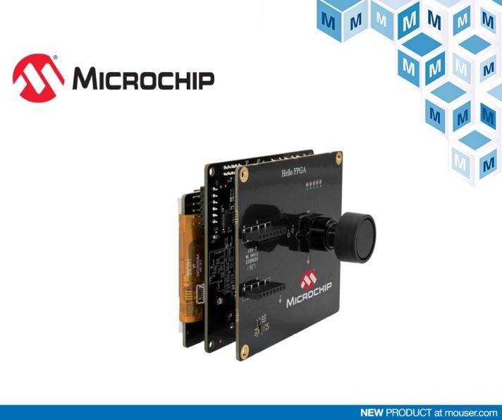 贸泽备货Microchip Hello FPGA套件 简化AI与图像处理应用的FPGA开发工作