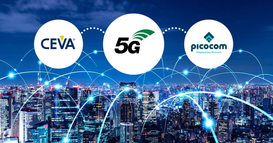 Picocom獲得CEVA DSP授權許可 用于5G新射頻基礎設施SoC