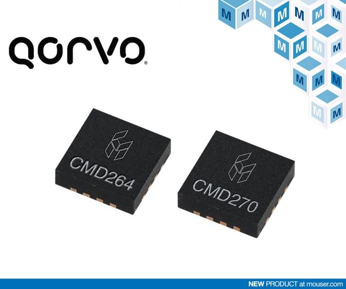 贸泽即日起供应Qorvo旗下Custom MMIC全线产品
