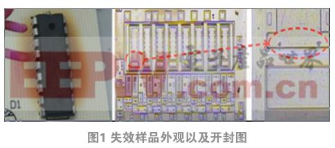 KID65783AP显示IC的失效分析与研究