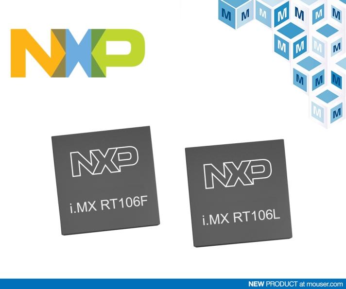 贸泽电子开售NXP i.MX RT106L和RT106F处理器
