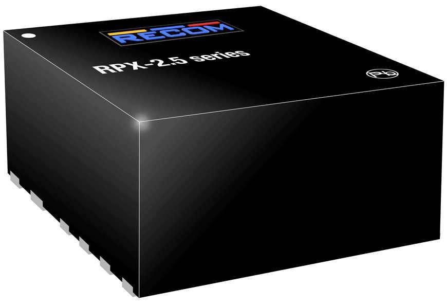 儒卓力新品:来自Recom的高功率密度紧凑型电源模块