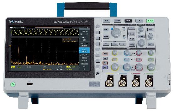 TBS2000B系列新款示波器,更低噪声、更优信号完整性