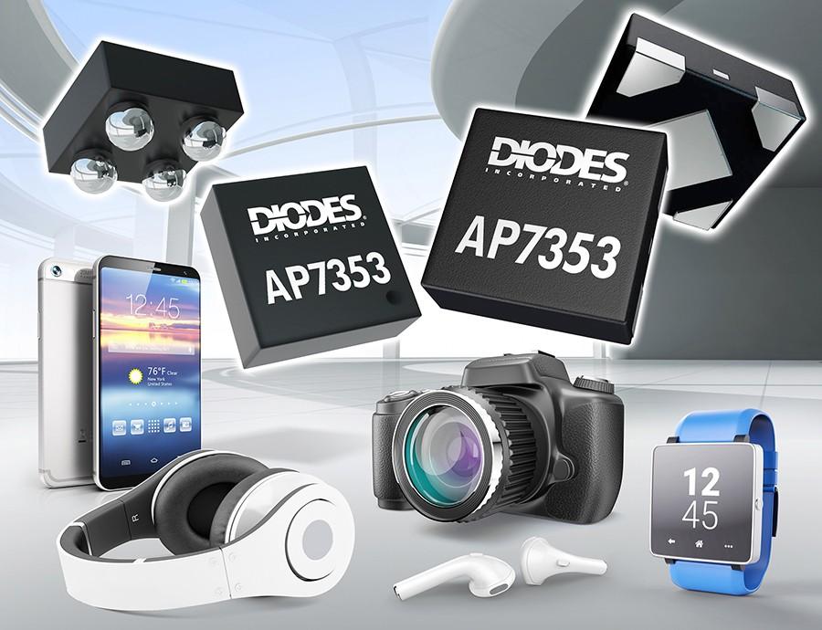 Diodes 公司推出低压差稳压器,提供小尺寸的高 PSRR,适用于噪声敏感型产品应用