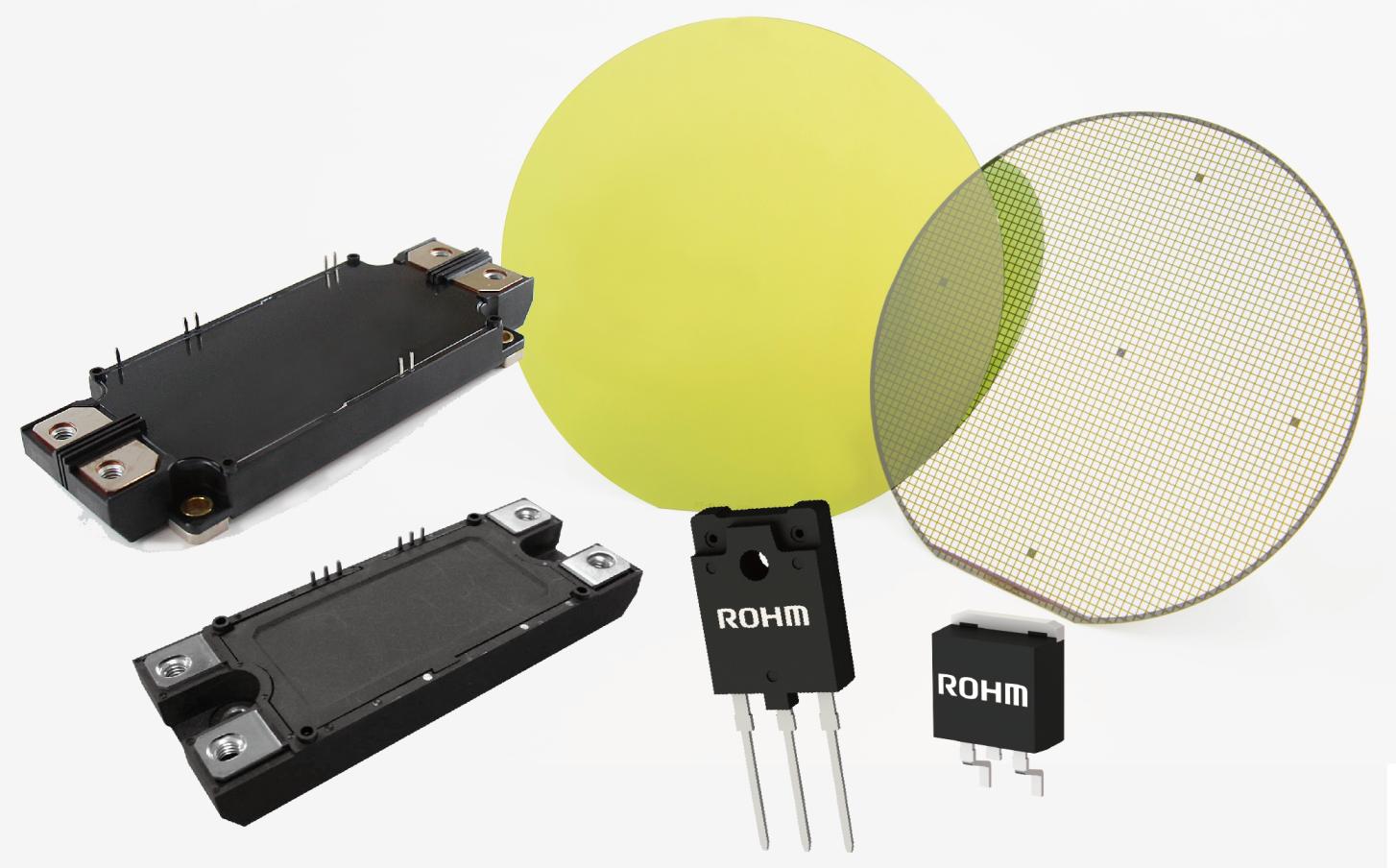 纬湃科技和罗姆携手打�造SiC电源解决方案