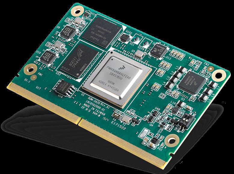 研华发布SMARC2.1模块 NXP i.MX 8X ROM-5620