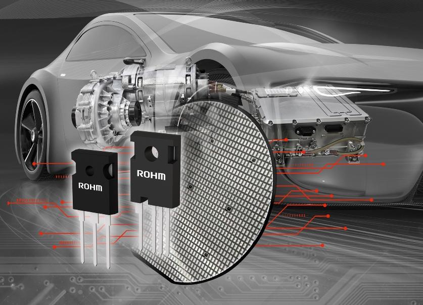 ROHM开发出业界先进的第4代低导通电阻SiC MOSFET