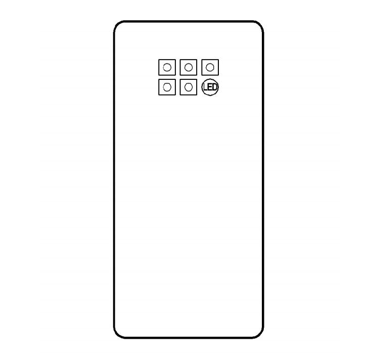 三星 6 摄像头手机专利曝光:每个相机传感器可独立倾斜拍摄