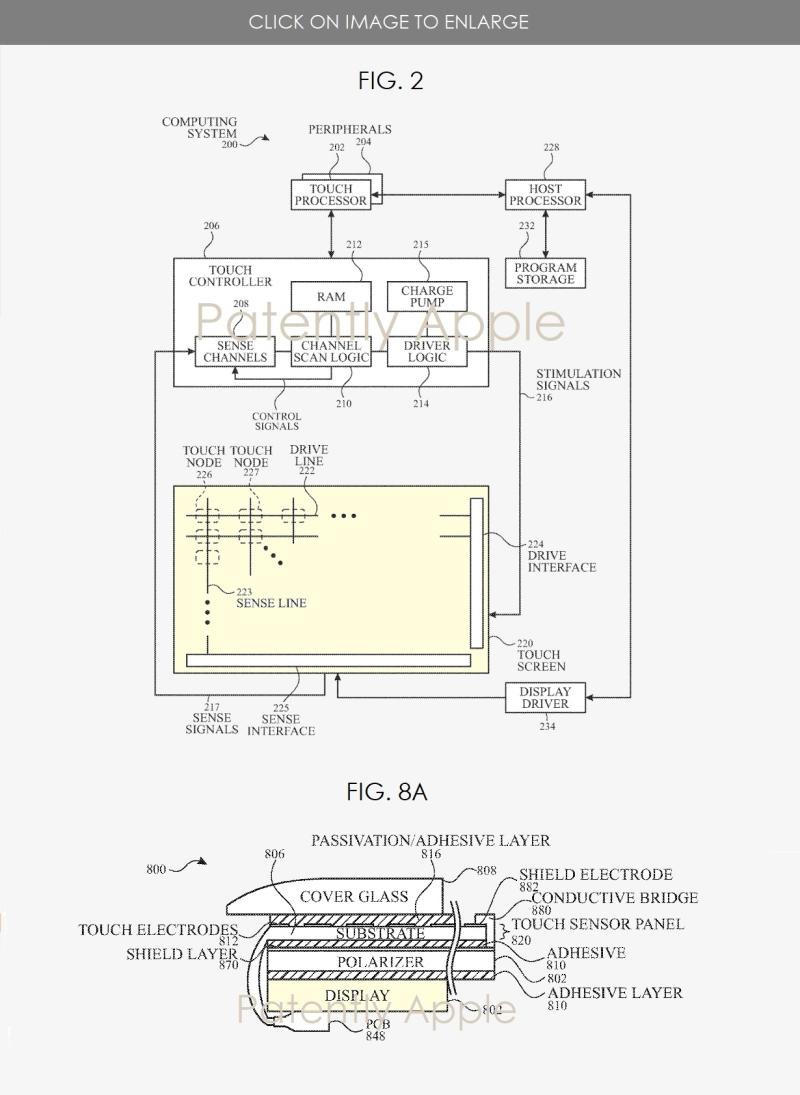 苹果专利揭示超薄触摸显示技术:iPhone未来将回归轻薄化