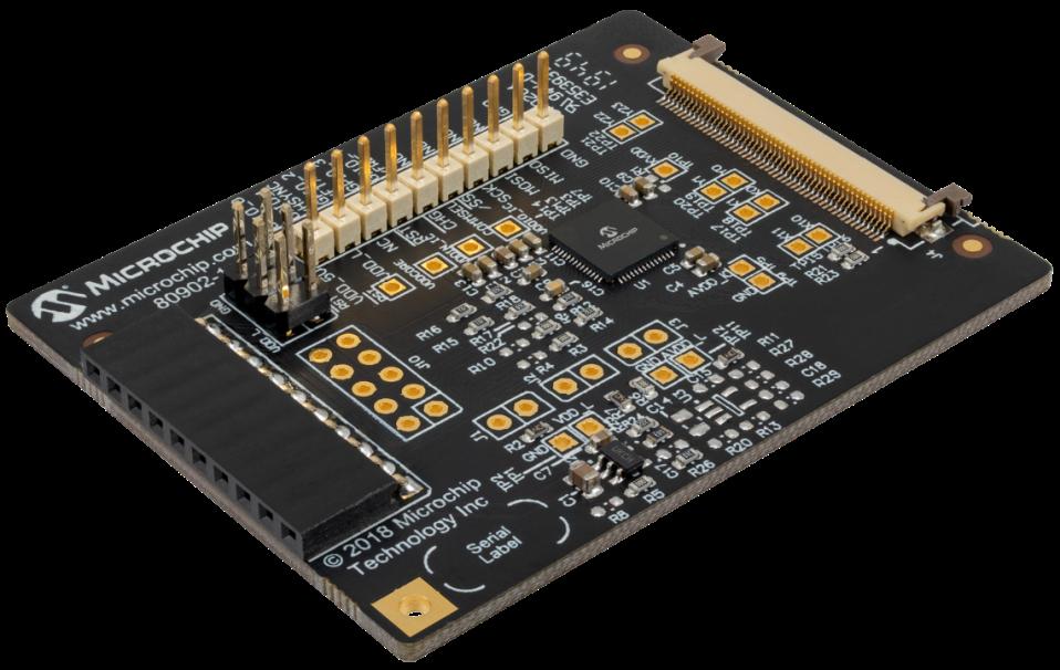 Microchip推出最小maXTouch触摸屏控制器, 应用于汽车智能面板和多功能显示屏