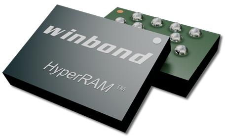 華邦電子HyperRAMTM 推出WLCSP封裝 引領穿戴式裝置時代