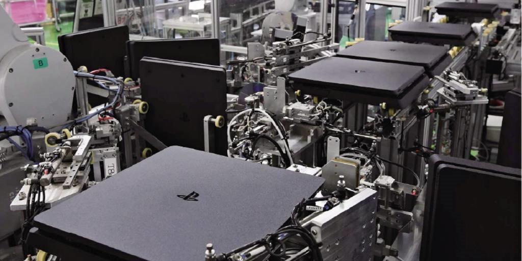 索尼PS工廠秘密武器:機器人30秒組裝一臺PS4