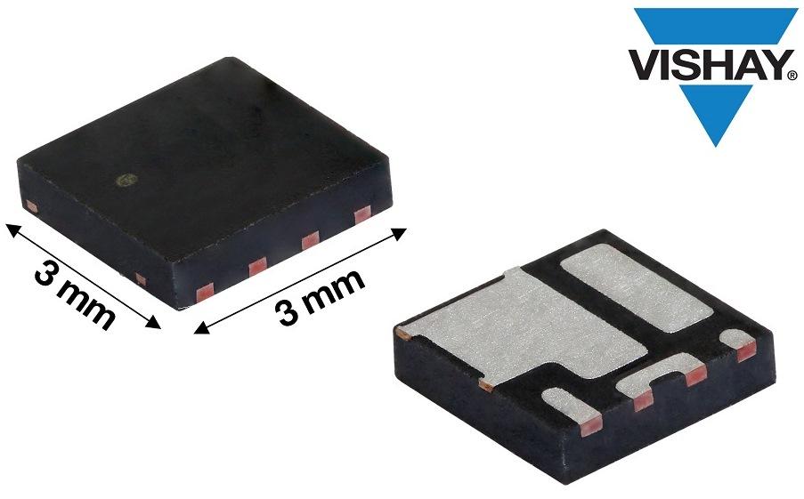 Vishay推出新款30 V MOSFET半桥功率级模块,输出电流提高11 %