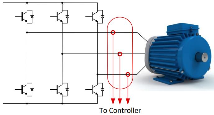 低漂移、高精度、直插式隔离磁性电机电流测量