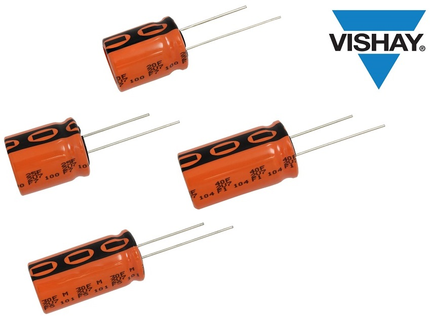 Vishay推出七款外形尺寸更小的ENYCAP™储能电容器