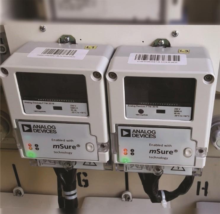 利用ADI的mSure技術實現電表精度監測