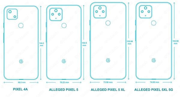 消息称谷歌Pixel 5开倒车:全系标配后置指纹