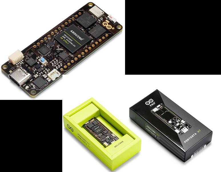 e络盟供应Arduino Portenta系列开发板,助力低代码工业物联网开发