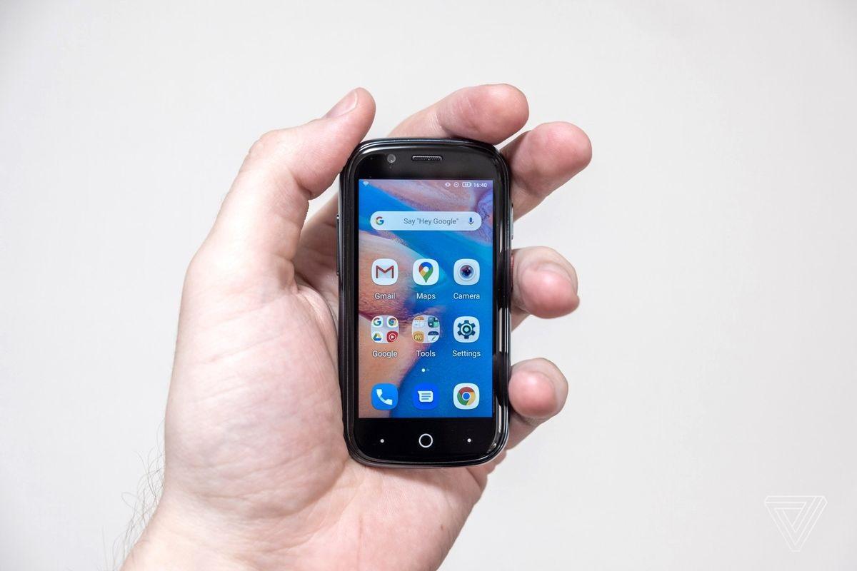 世界最小安卓 10 手机 Jelly 2 发布,屏幕仅 3 英寸