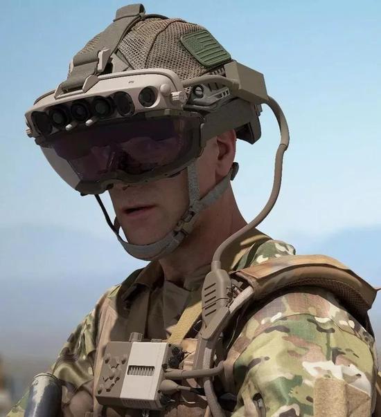 基于HoloLens2的最新IVAS原型机,图案:Courtney Bacon
