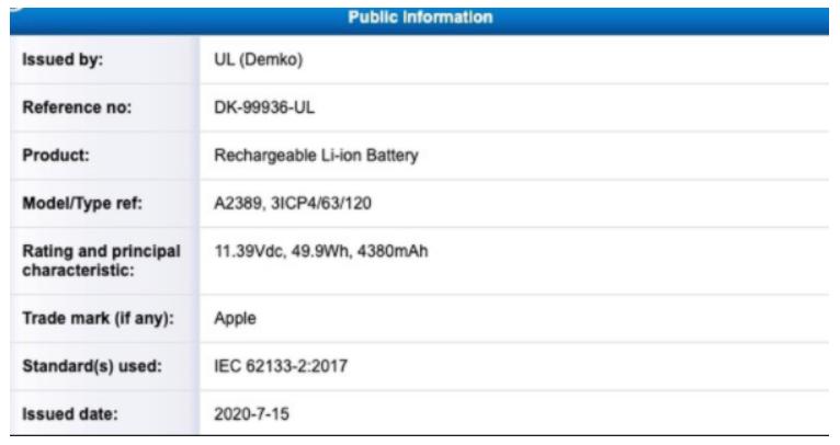 苹果芯片Mac电脑电池容量曝光:新MacBook Air或首发