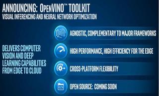 英特尔发布OpenVINO 让开发者在物联网上布局AI模型