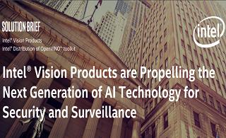 OpenVINO正在推动下一代用于安全和监视的人工智能技术