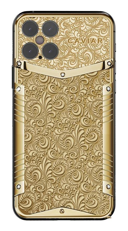 足足18克拉黄金握在手里!黄金iPhone 12定制版曝光