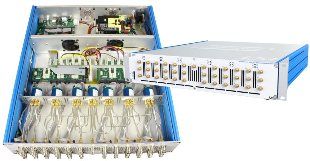 Pickering Interfaces公司推出了成套LXI微波開關和信號路由子系統