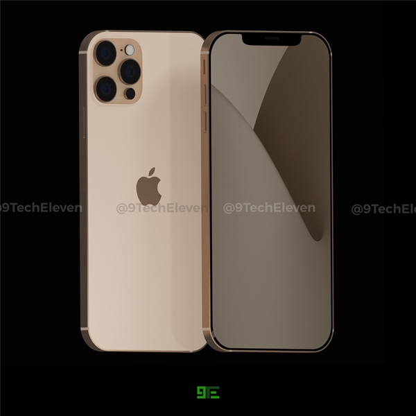 iPhone 12 Pro最新外形渲染圖曝光:越看越有蘋果4味道