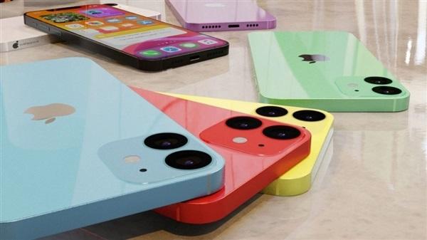 5.4 英寸苹果 iPhone 12 最新多彩渲染图:基于爆料制作,6 大配色
