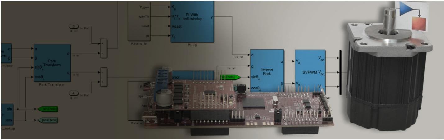 MathWorks 推出用于算法开发的 Motor Control Blockset