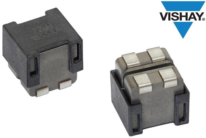 Vishay推出汽車級雙電感器,降低電路板所需空間,減少D類放大器元件數量