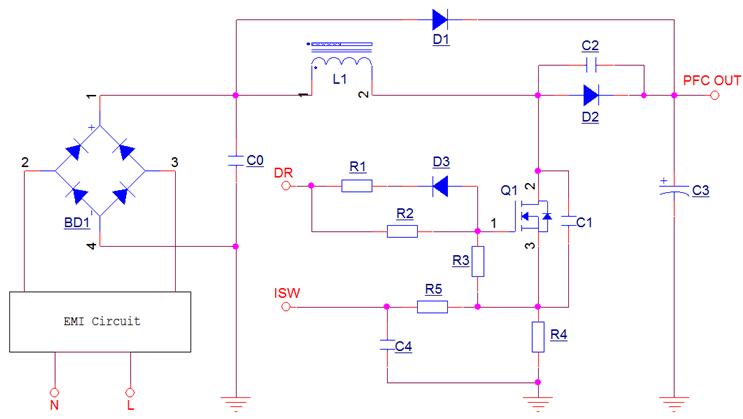 PFC电路MOS管应用电路振荡问题分析