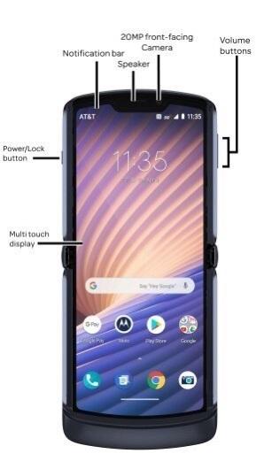 摩托罗拉Razr 5G改用背部指纹识别:位于Logo处