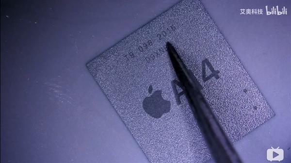5nm性能无敌:网友提前晒苹果A14芯片上手照片